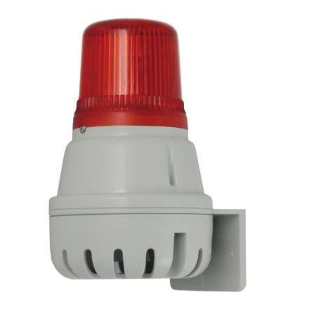 Светозвуковой оповещатель сирена H100BL со светодиодным маяком