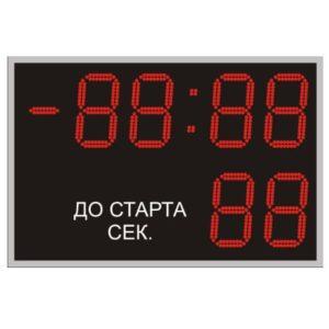 Табло для лыжного спорта ТС-210х6_ПДУ
