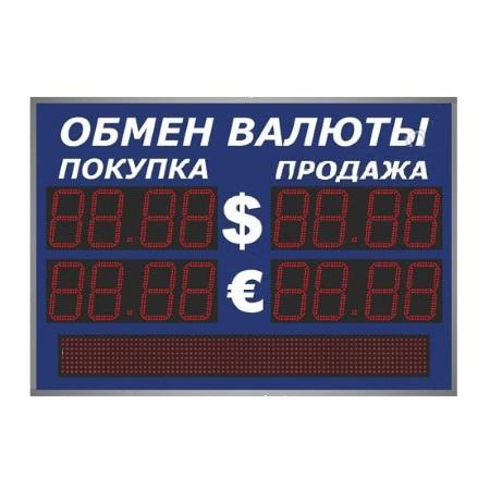 Уличные табло валют 4 разряда