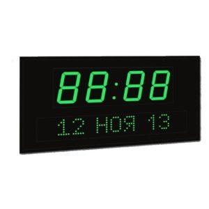 Часы-календарь (время-ЧЧ/ММ, дата-ЧЧ/ММ/ГГ)
