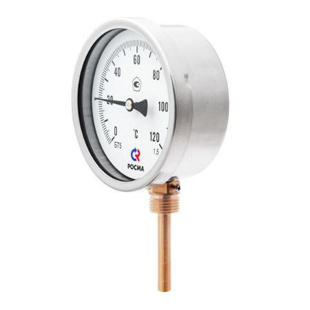 Термометр биметаллический БТ с радиальным присоединением