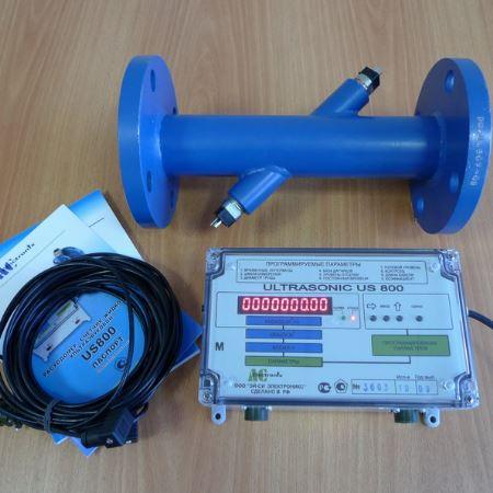 Ультразвуковой расходомер US-800, исполнениe 1Х - одноканальный однолучевой