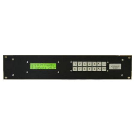 Часовая станция ЧС-1-02-2 19''2U в корпусе 19 дюймов