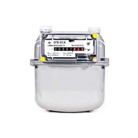 Бытовой счетчик газа (квартирный) СГБ G 1,6