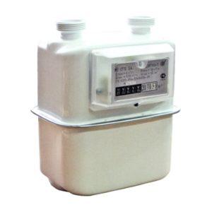 Бытовой счетчик газа с вертикальным подключением СГБ G 2,5; G 4 СИГНАЛ