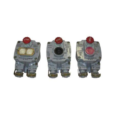 Посты взрывозащищенные кнопочные типа ПВК-1,2,3