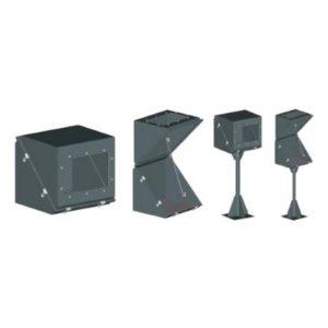 Коробки защитные взрывозащищенные и кожухи диагональные серии КЗВД