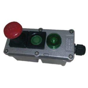 Посты управления взрывозащищенные кнопочные типа ПВК с индикацией (2ExedIICТ6)
