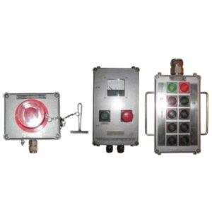 Посты взрывозащищенные кнопочные cерии ПВК-ХХХХ из пластика или алюминия