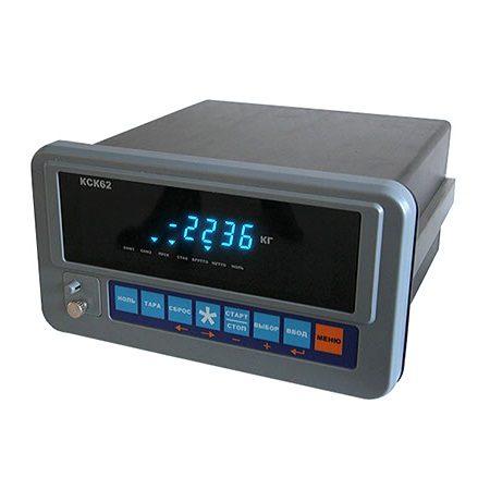 Весовой индикатор КСК62
