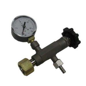 Вентиль точной регулировки ВТР-1-М160 с манометром