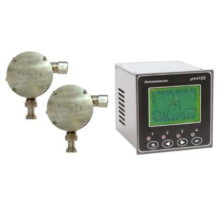Промышленный двухканальный рН-метр pH-4122