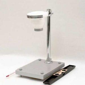Вискозиметр ВЗ-4 с фенопластовой воронкой на штативе