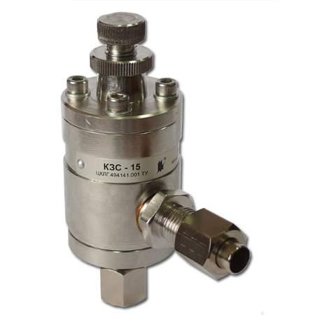 Клапан защитный сильфонный КЗС