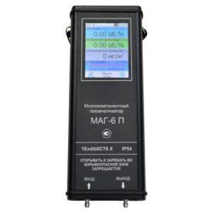 МАГ-6-П-Т газоанализаторы портативные многокомпонентные с сенсорным дисплеем