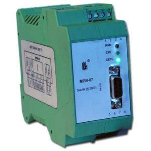 Модуль преобразования интерфейсов RS-232/RS-485 МПИ-07