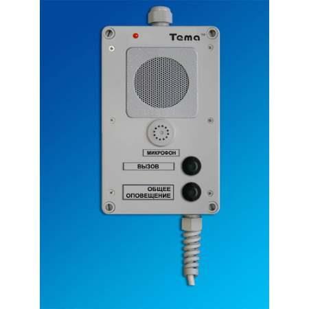 Прибор громкоговорящей связи Tema-A12.24-p65