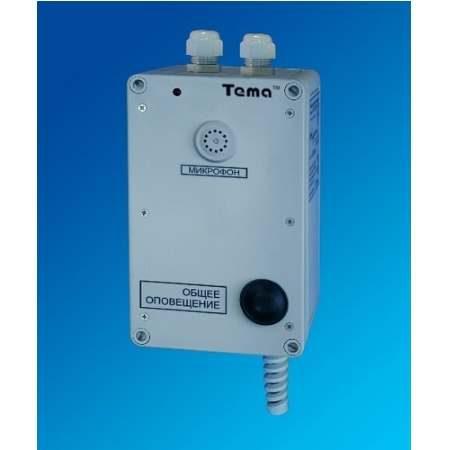 Прибор громкоговорящей связи Tema-AC11.22-p65