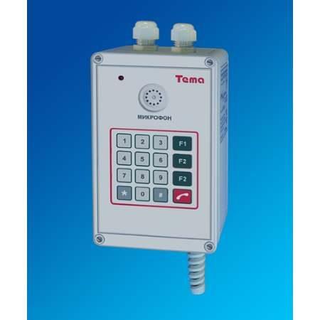 Прибор громкоговорящей связи Tema-E11.22-p65