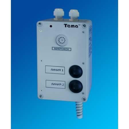 Прибор громкоговорящей связи Tema-S21.22-p65