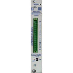 Схема электрических подключений МР-4