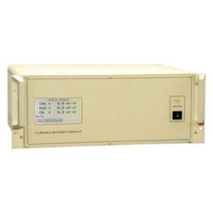ГАММА-ЕТ газоанализатор стационарный пламенно-ионизационный углеводородов и метана в атмосферном воздухе