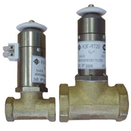 КЭГ-9720 клапаны электромагнитные нормально открытые (импульсные)