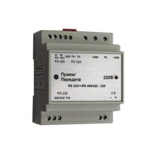 Преобразователь интерфейса RS232-RS485 422-220В