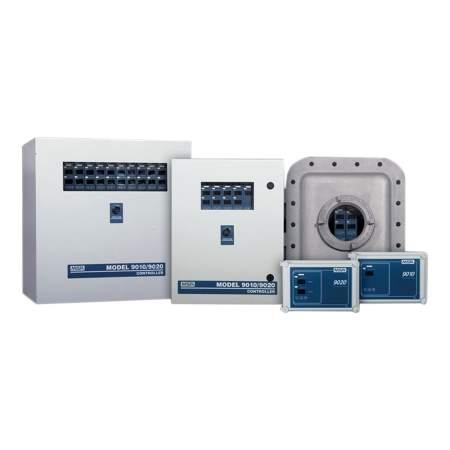 LCD системы управления газоаналитических систем