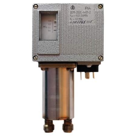 ДЕМ-202С датчики-реле разности давлений