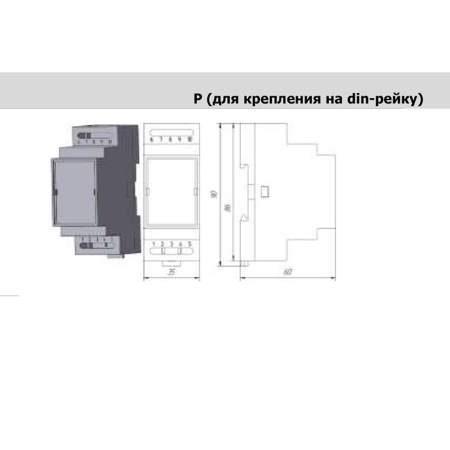 ИД-И-АЦ датчики избыточного давления. Модель корпуса Р.
