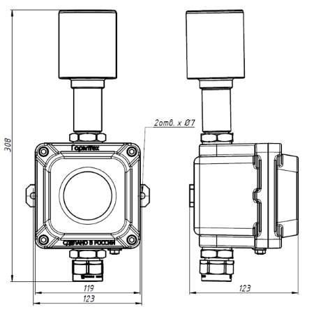 ПГСК03 посты световой и звуковой сигнализации взрывозащищенные (1)