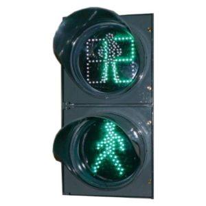 П.1.2-ТВ-(со звуком) светофор дорожный пешеходный светодиодный