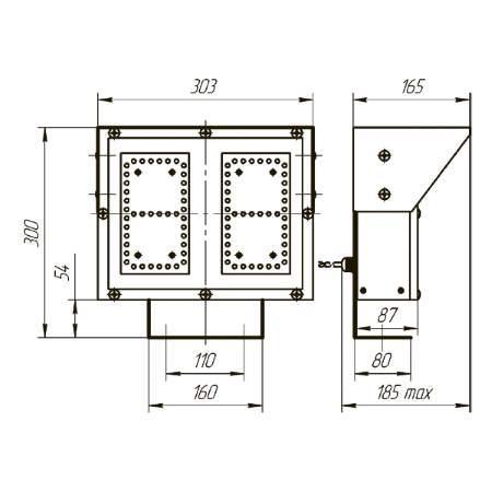 ТВ-160Л-2, ТВ-160КЛ-2 светофоры-табло обратного отсчета времени (1)