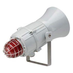 MCA112-L1 сирены сигнальные морского исполнения со светодиодным проблесковым маяком
