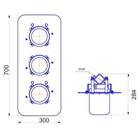 TraffEx-ВС-3 светофоры светодиодные взрывозащищенные (1)