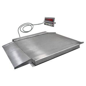 UNIGRAM EB4-Н весы платформенные 1200х1500 мм низкопрофильные
