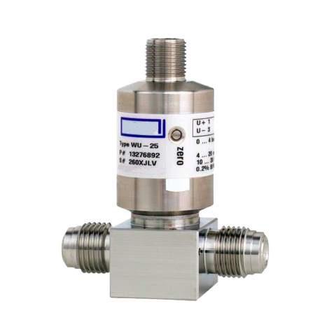 WU-20, WU-25, WU-26 датчики давления для сверхчистых сред (1)
