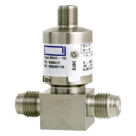 WUC-10, WUC-15, WUC-16 датчики давления для сверхчистых сред (1)