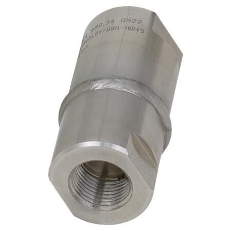 990.34 разделители мембранные с резьбовым присоединением, диаметр мембраны 22 мм