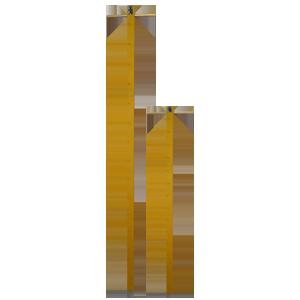 М-46 рейка снегомерная металлическая переносная